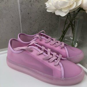 Katy Perry The Glam Sneaker - Size 8 - LT Violet